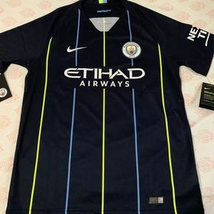New with tags!! Nike Manchester City Away jersey